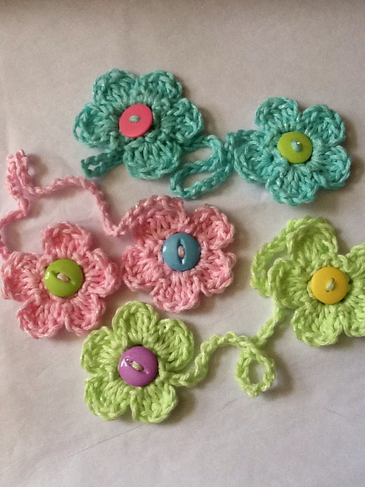 Lakeview Cottage Kids Here It Is The Crochet Flower Bookmark