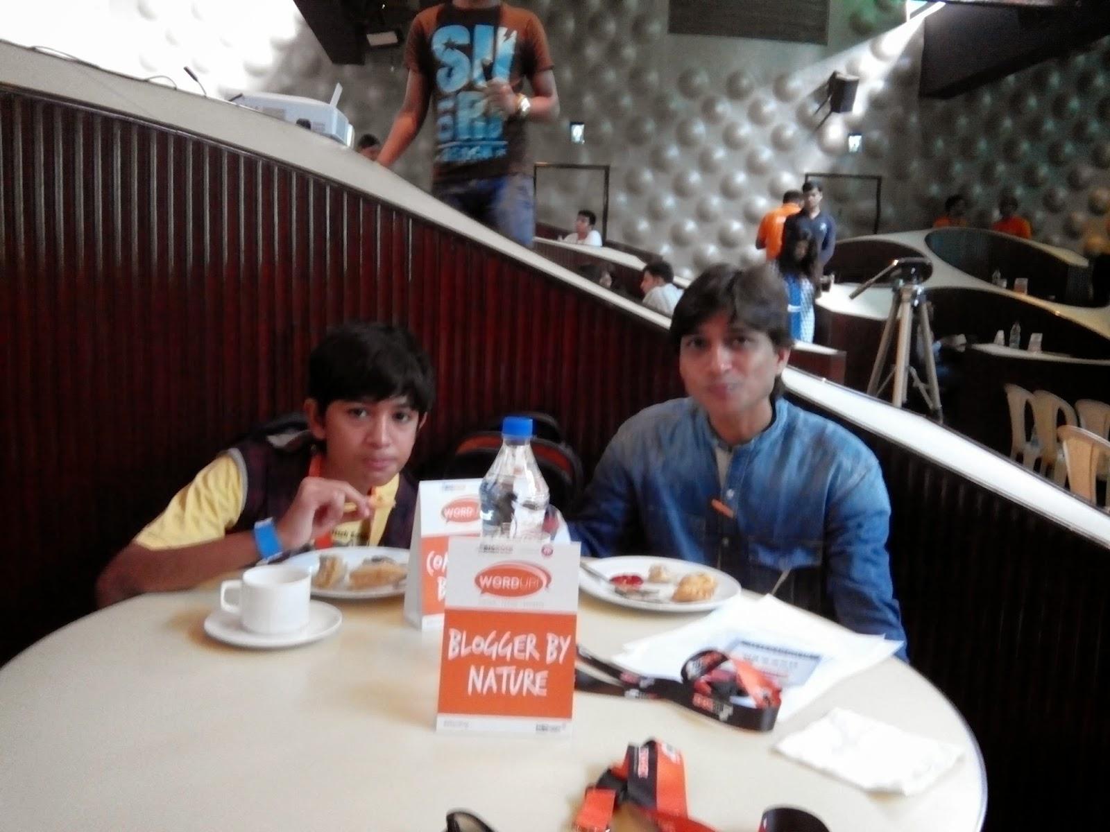 BigRock, WordUp, Breakfast, Indiblogger, nozzer Pardiwala, shahen