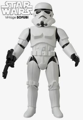 Stormtrooper Star Wars Vintage Sofubi Vinyl Figure by Medicom