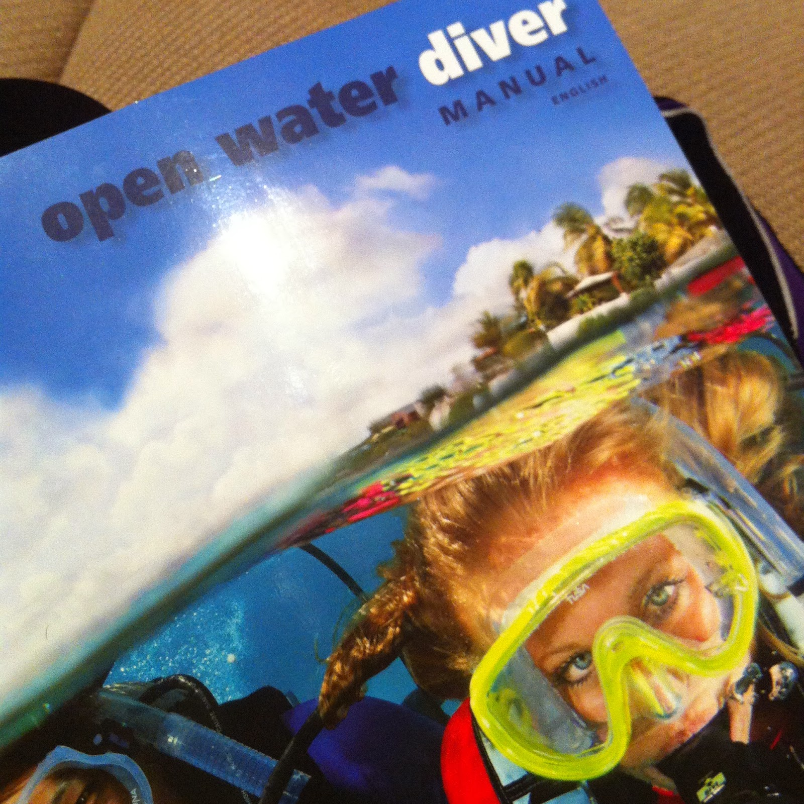 open water dive manual PADI