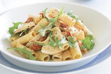 Салат с макаронами и курицей рецепт