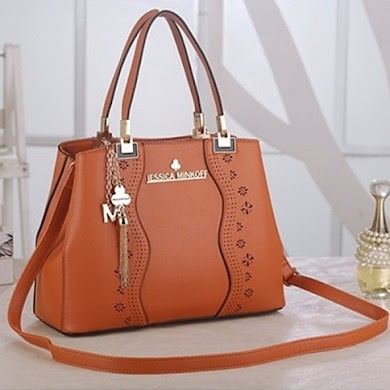 JESSICA MINKOFF DESIGNER BAG - ORANGE