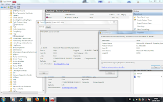 help event id 1023 windows 7