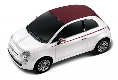 Fiat 500C Nation America Limited Edition (2012) Front Side