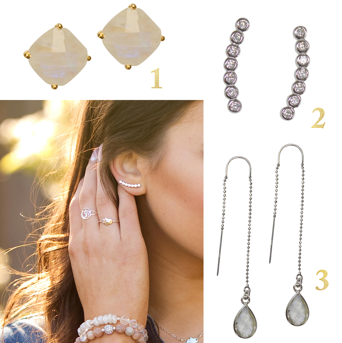3 Must Have Earring Styles For Fall 2015 - Brooklyn Designs