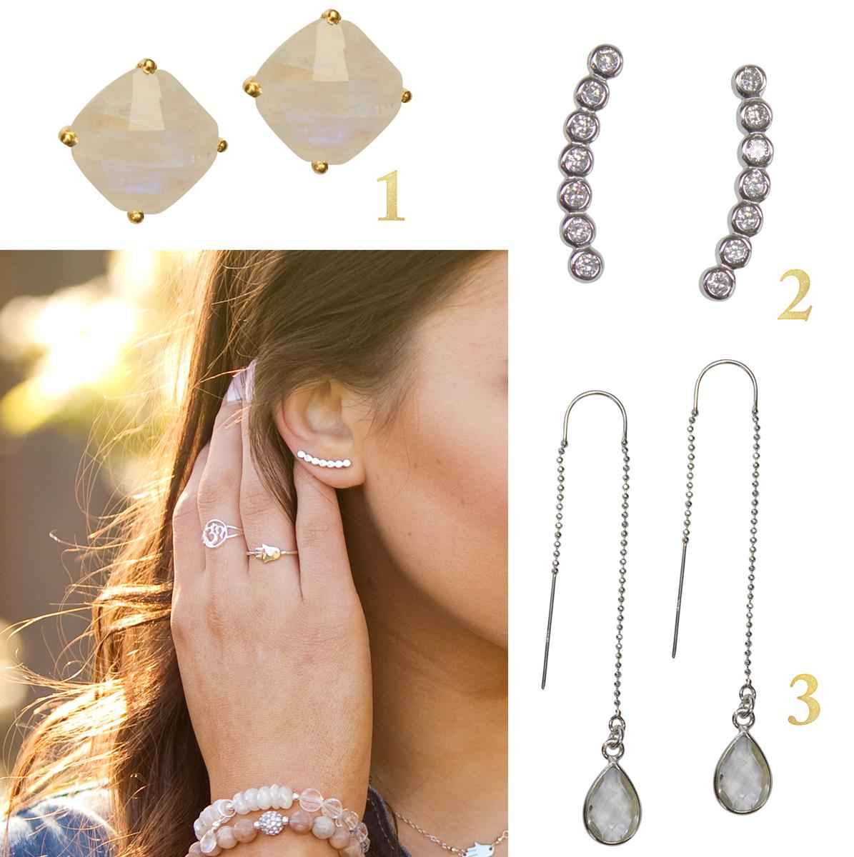 Earring Types Jewelry Nomenclature Gem Earrings
