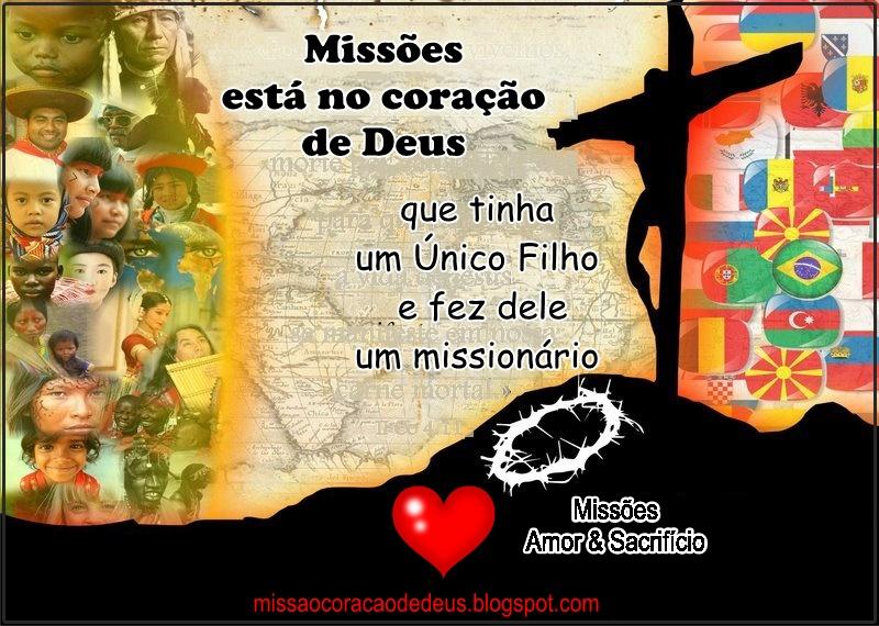 -Missão está no coração de Deus!