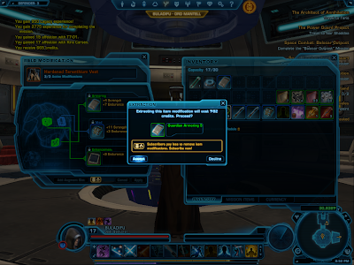 SWTOR - Extracting Item Modification