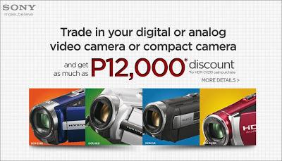Sony Handycam Trade-in Promo