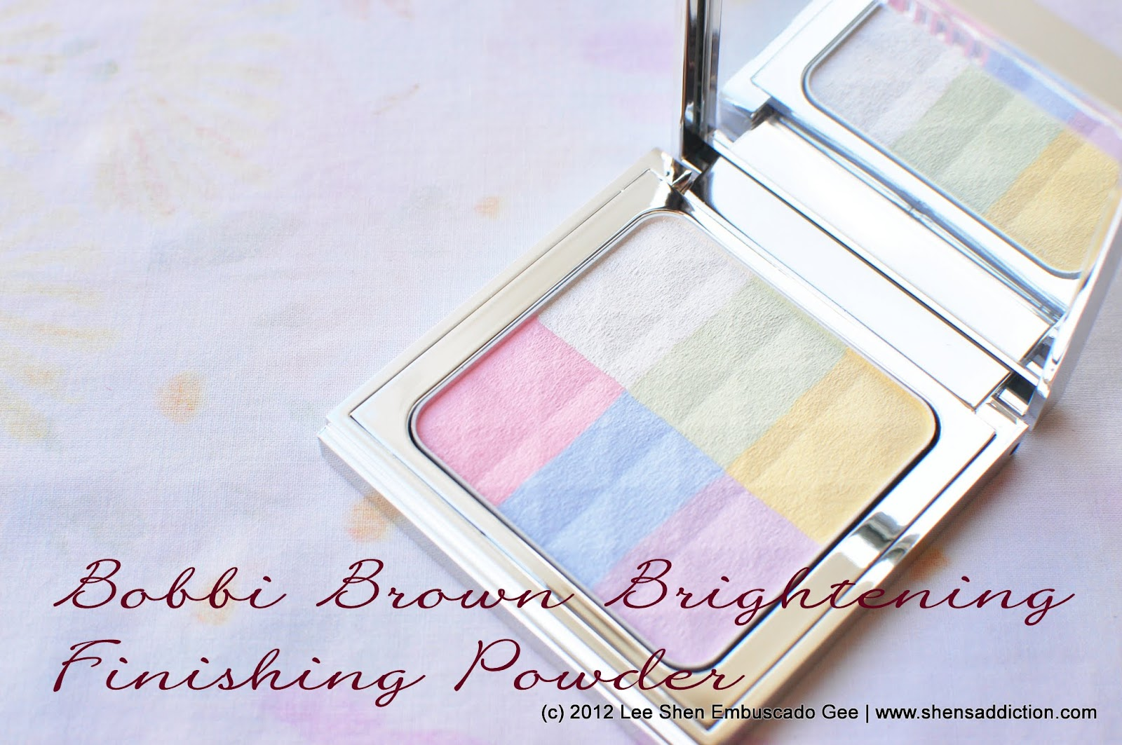 The Uncurated Life: Bobbi Brown Brightening Finishing ...