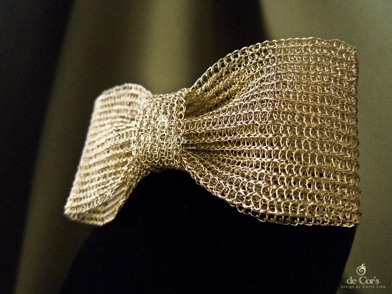 De Cors Handmades Malaysia Handmade Jewelry Gold Bowtie For Men