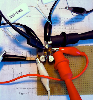 The test circuit for the DC/DC Converter