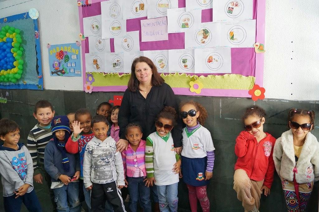 A mãe Jaciara Santos elogiou a abordagem da escola na Semana da Educação Alimentar