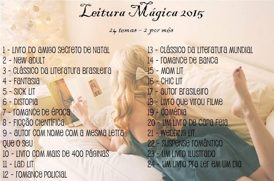 Projeto Leitura Magica