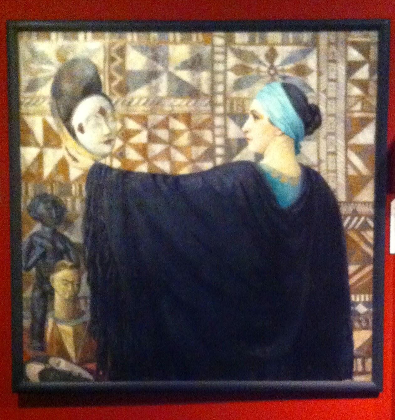 G. Moiselet, le masque negre, 1929