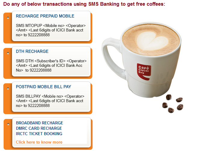 ICICI ccd offer