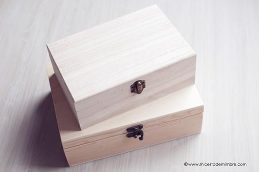 Hazlo tu mismo personalizando cajas mi cesta de mimbre - Como decorar cajas de madera paso a paso ...