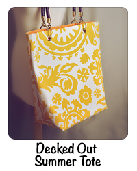 Decked Out Summer Tote