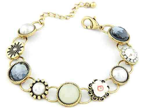 Muted Floral Bracelet