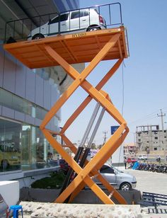 Hydraulic Scissor Lift By Tech Mech Group