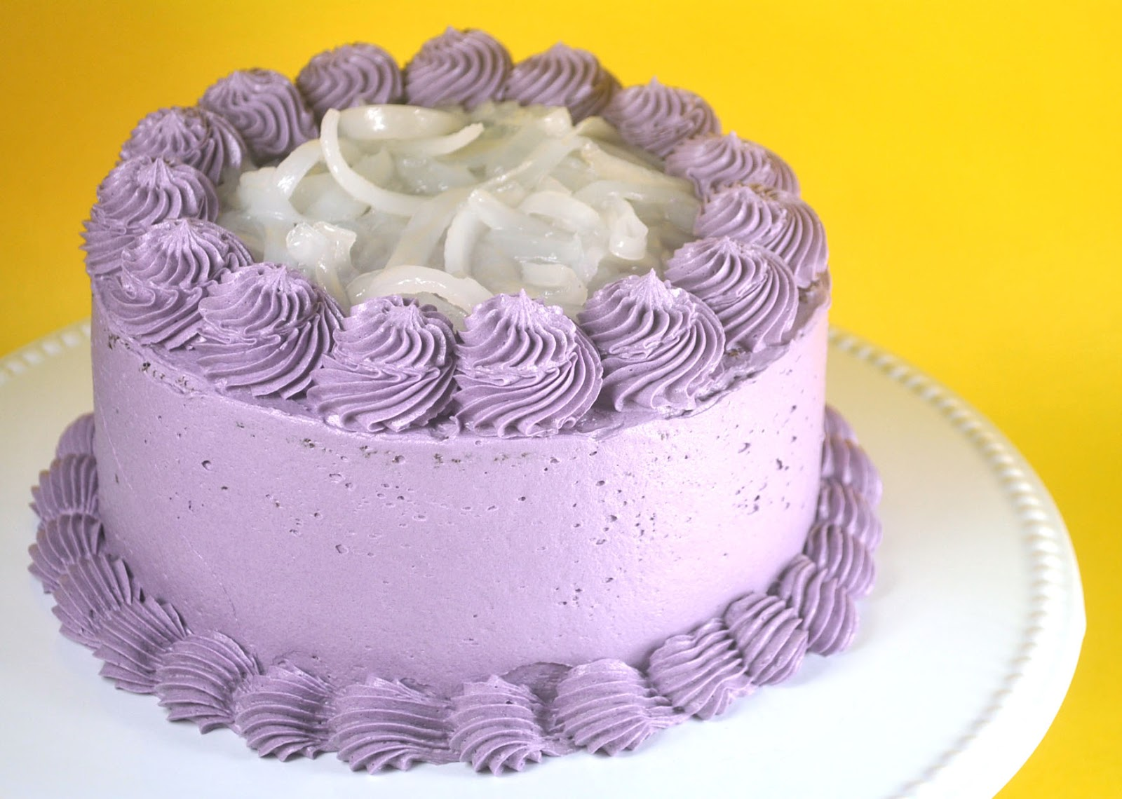Easy Ube Macapuno Cake Recipe