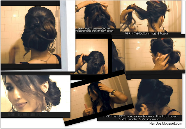 Captured+Videos4 Easy Wedding Hairstyles Updo, How to Chignon Coiffure, Low Sock Bun