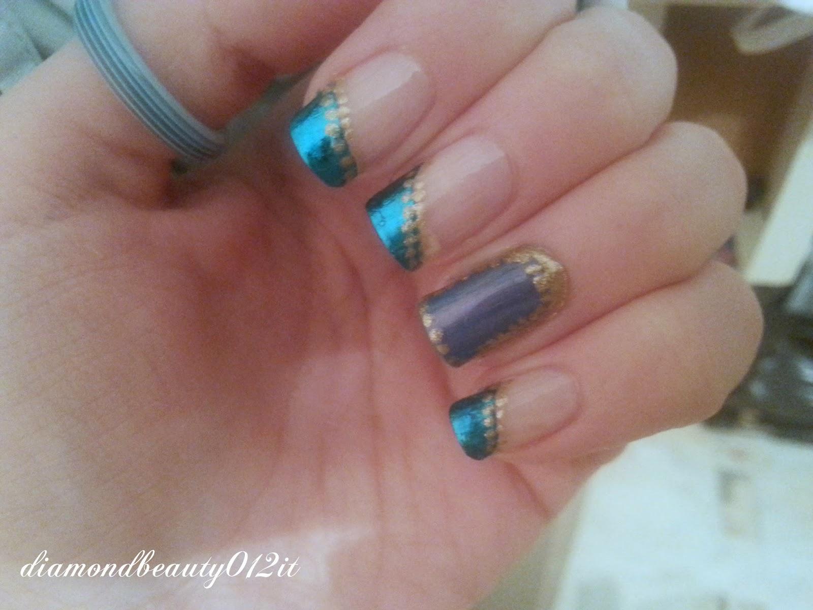tutorial unghie per il carnevale