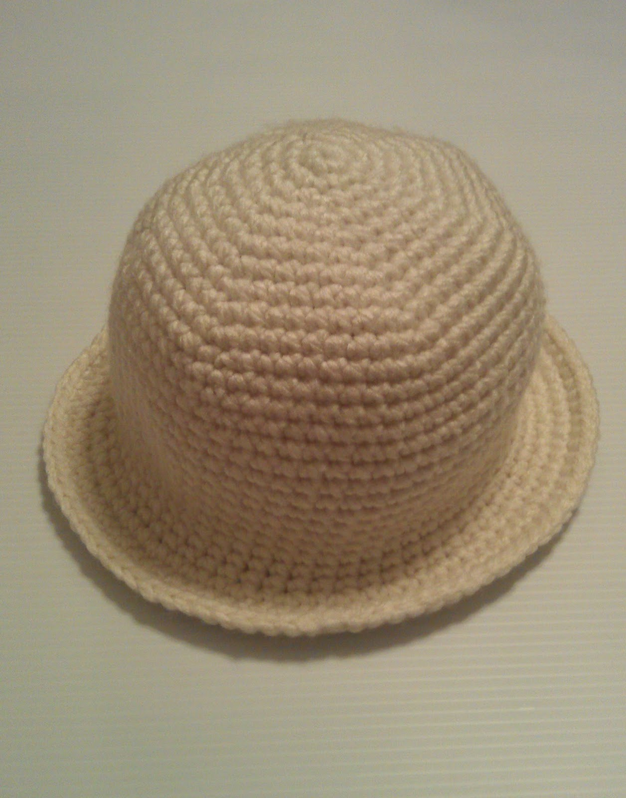 Mini Brim Hat: Free Crochet Pattern - Artsy Daisy Crochet