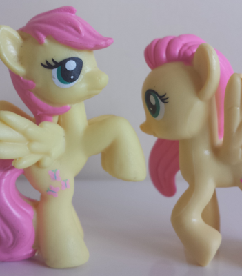 As cute as short mane fluttershy is it s nice to have one on model i