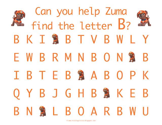 preschool letter recognition worksheets