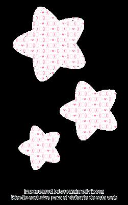 Estrellas para cumpleaños de jovencitas