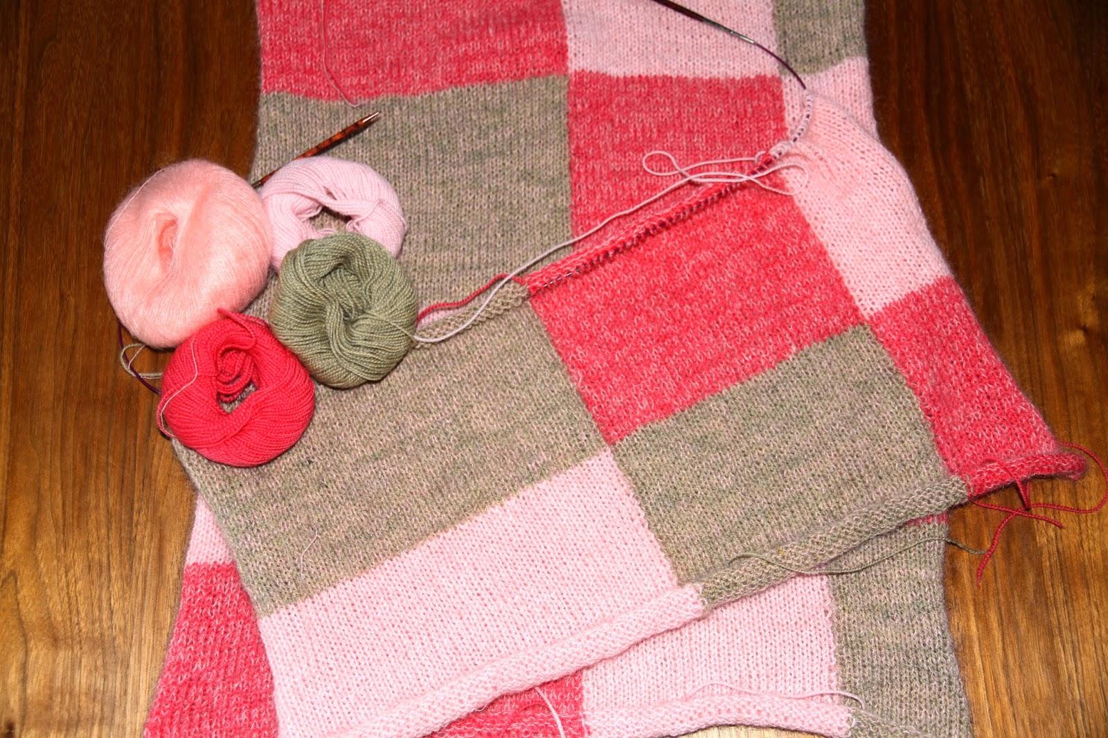 Sweater i gobelinstrik, Charlotte Kaae design for BC garn