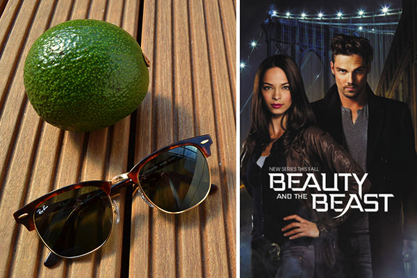 März Favoriten 2014 Ray Ban Clubmaster Beauty and the Beast Serie