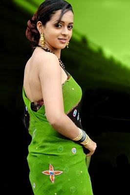 Bhavana Saree Back
