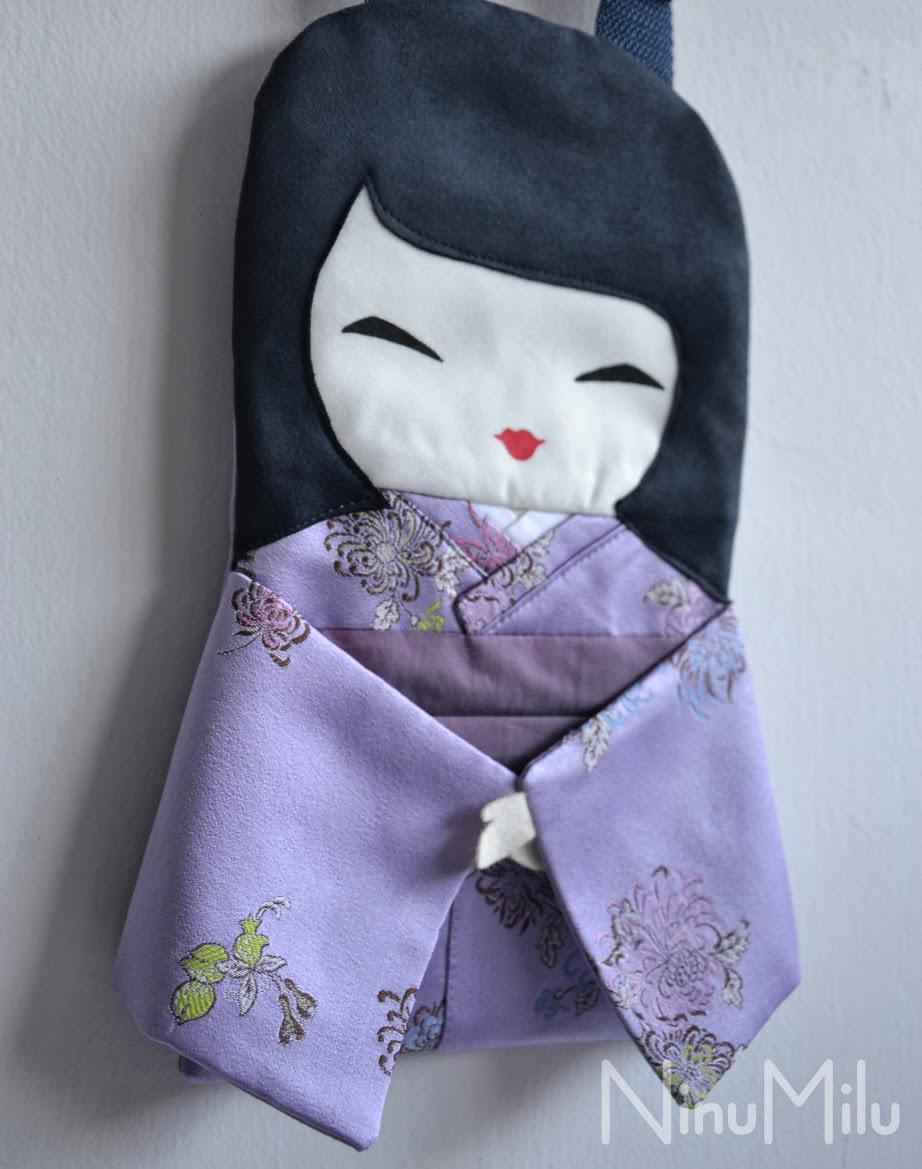 Lalka torebka Japonka Ayane