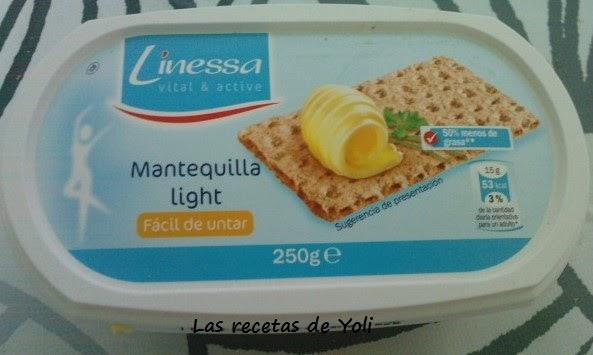 Las recetas de yoli mantequilla light facil de untar linessa for Cuchillo para untar mantequilla