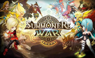 Screenshots of the Summoners war: Sky arena for Android tablet, phone.