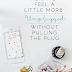 UHeart Organizing:  How To Feel A Little More Unplugged Without Pulling The Plug