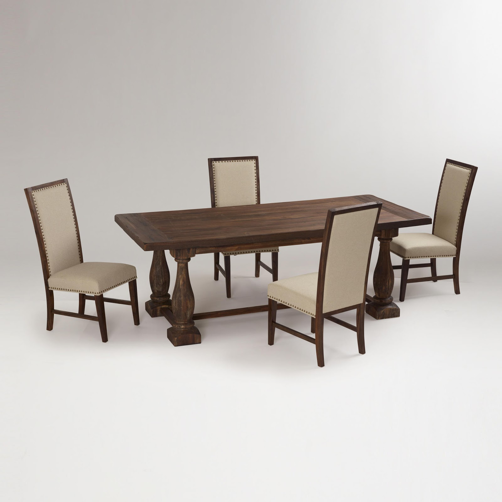 Dining table who makes restoration hardware dining tables for Who manufactures restoration hardware furniture