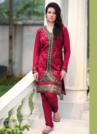 Designer-Churidar-Suit