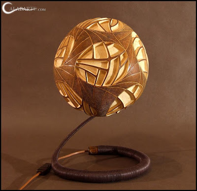 Creative and Cool Gourd Lamps (14) 1