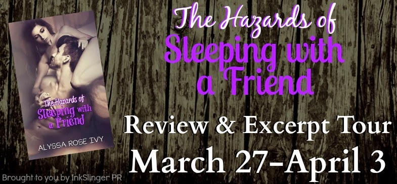 The Hazards of Sleeping with a Friend Blog Tour Banner