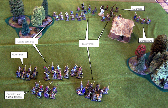 Anglodaneses vs Vikingos para Saga