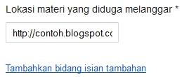 cara menghukum blog yang copy paste postingan