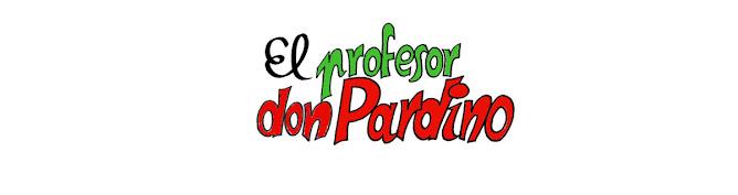El profesor don Pardino