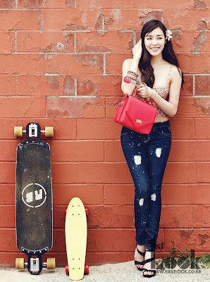 Tiffany Hwang SNSD Girls' Generation California Girl 1st Look Magazine May 2013