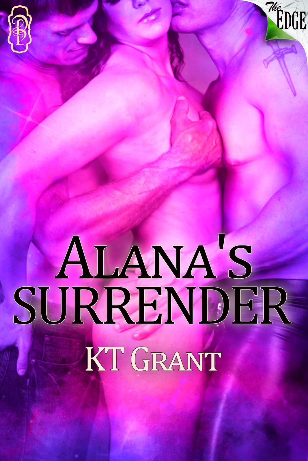 This is an erotic Menage (MFM) romance called Alana's Surrender and the ...