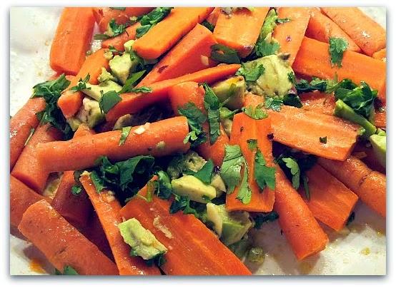 Napa Farmhouse 1885™: Carrots & Avocado with Cumin