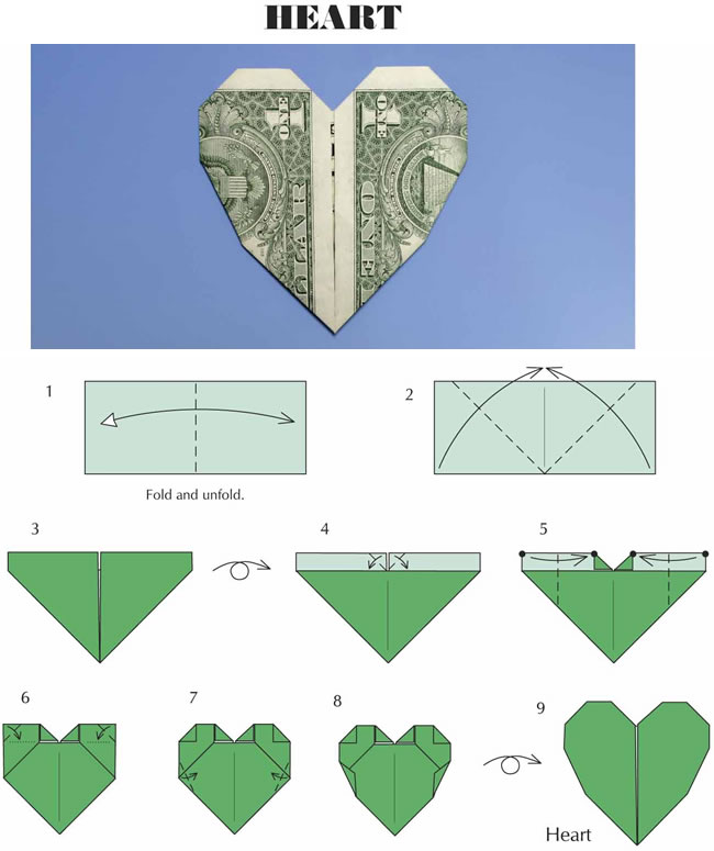 Money Flower Origami