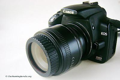 DIY Lens Reversal Cap / UV Filter for Macro Photography